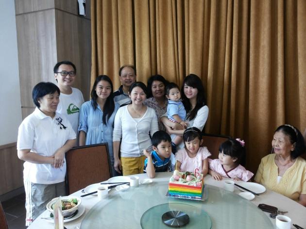 with keluarga cici ipar